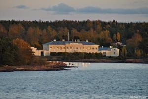 Eckerö post- och tullhus på Åland. Foto Viktor