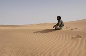 Västsaharisk flykting i flyktinglägret Dakhla, Algeriet. Foto: UN Photo/Evan Schneider