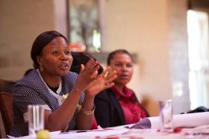 Sylvie Ndongmo, grundare och ordförande för IKFF Kamerun. Foto: Maryatta Wegerif