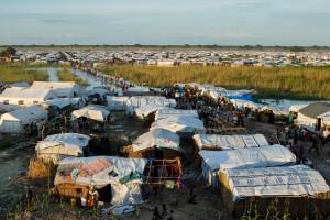 Internflyktingläger i Unity State i Sydsudan. Foto: UN Photo/JC McIlwaine