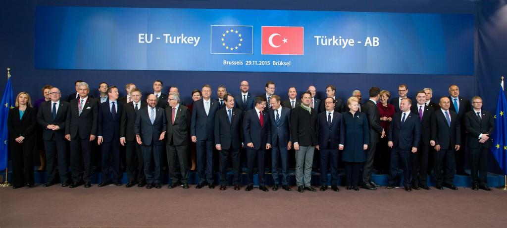 Möte mellan EU:s regeringschefer och Turkiet Foto: Etienne Ansotte / EC - Audiovisual Service