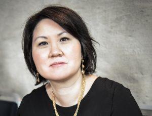 Zarah Abrahamsson, statsvetare och redaktör på Mänsklig Säkerhet. Foto: Anna Holmgren