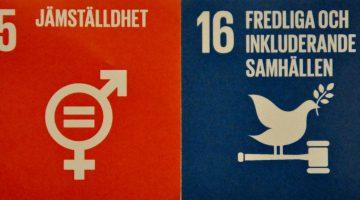 En jämställd Agenda 2030: vägen mot mer fredliga samhällen? – del 2