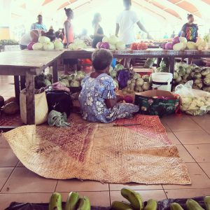 Marknaden i Port Vila, Vanuatu. Foto: Emma Jidinger