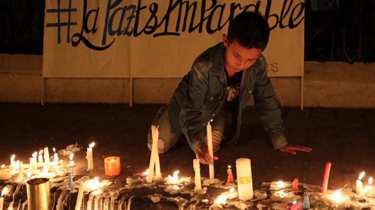 Ökat våld hotar Colombias fred