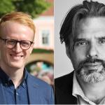 Robin Andersson Malmros och Christer Mattson