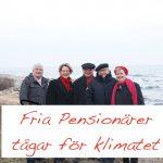 Mänsklig säkerhet genom klimatomställning NU!