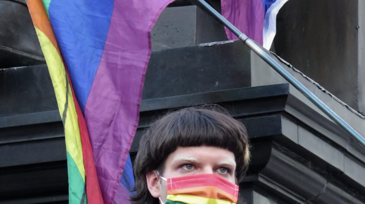 Jesus and the Rainbow Flag