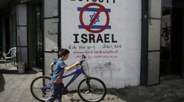 BDS-rörelsen ett hot mot Israels demokrati