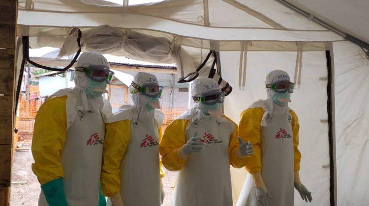 Riskfylld kamp mot ebola i DR Kongo